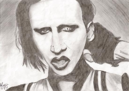 Marilyn Manson by AsiulkA